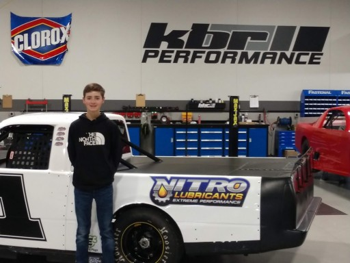 Joe Valento Partners With Nitro Lubricants for Midwest Truck Series Debut at Madison