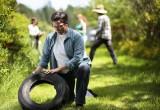 CDC AGO mosquito trap in the field