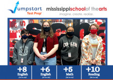 Juniors at the Mississippi School of the Arts Achieve Significant Improvements on their ACT Scores