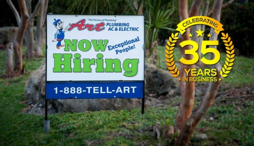 Art Plumbing, AC & Electric Announces Expansion of Operations in Orlando and Jacksonville Florida Metro Areas