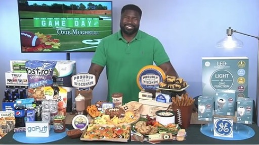 Ovie Mughelli Shares Ideas for an All-Pro Tailgate With Tips on TV Blog