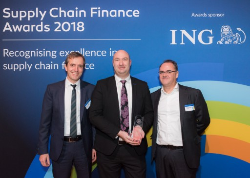 The UK Government's Procurement Organization CCS Wins Prestigious Supply Chain Finance Award