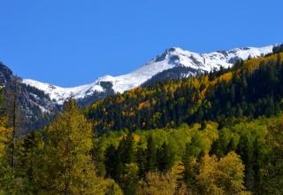 Pagosa Springs, Colorado in fall