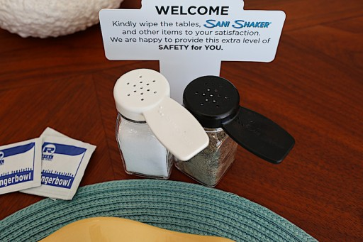 Restaurant Safety Boosted With New Sani Shaker No-Contact Salt & Pepper Shakers