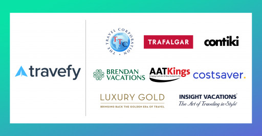 Travefy Announces New Integrations With Trafalgar, Contiki, Brendan Vacations, Insight Vacations, AAT Kings, Costsaver, and Luxury Gold