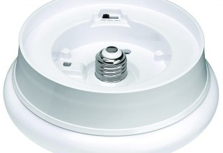 LED-1 Low-Profile Luminaire with Motion Sensor, Alternate View