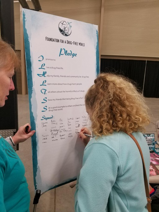 Drug-Free World Brings Drug Education to the Estes Park Safety Fair