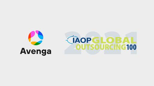 Avenga Named to The 2021 Global Outsourcing 100\u00ae List by IAOP\u00ae