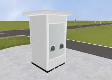 Swab Testing Booth