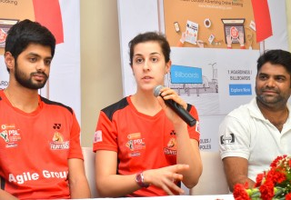 Carolina Marin Speech During the Launch of Mera Hoardings Mobile APP
