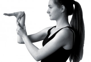 Touching the thumb to the forearm is a sign of joint hypermobility