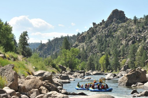 Make a Splash with Hot Springs and Rafting in Colorado