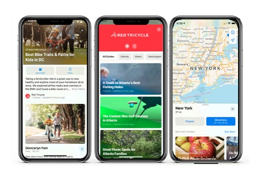 Tinybeans' Red Tricycle Brand Launches Curated Guides in Apple Maps