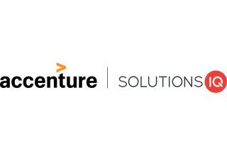 Accenture  l  SolutionsIQ Logo