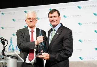 Tom Kuhn Receives Keystone Leadership Award