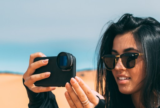 SANDMARC Launches 1.55x Anamorphic Lens for iPhone 12 & 12 Pro