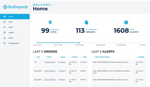 GoExpedi Launches Management Control Center, a Digital Supply Chain Solution for the Energy Industry