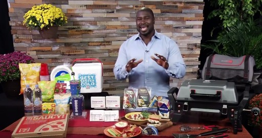 Former All-Pro Fullback Ovie Mughelli Shares His Tailgate Party Tips on Tips on TV