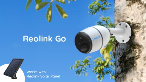 Reolink's Game-Changer Reolink Go, a 100 Percent Wire-Free 4G Mobile HD Security Camera, Will Soon Hit Indiegogo