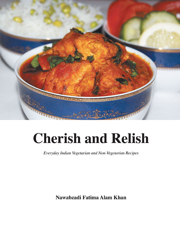 Indian princess debuts new royal cookbook from recipes royale cherish and relish everyday indian vegetarian and non vegetarian recipes forumfinder Images