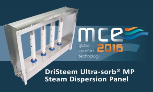 DriSteem Introduced New Ultra-Sorb® Model MP at Mostra Convegno Expocomfort 2016