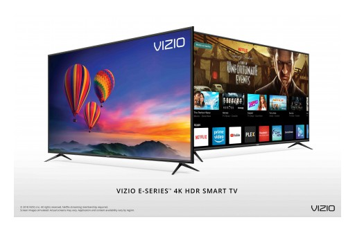 VIZIO Delivers Uncompromised Value With Launch of All-New 2018 D-Series™ and E-Series™ 4K HDR Smart TV Collections in Canada