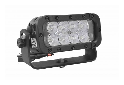 Larson Electronics Releases Strobing, Infrared LED Light, (8) 3W LEDs, 9-24 Volts, 1200Hz, 1,440 Lumens