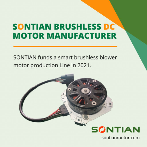 SONTIAN Funds a Smart Brushless Blower Motor Production Line, to Become One of the Biggest Automotive Brushless Motor Manufacturers in the Industry