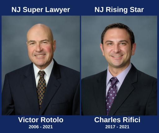 Rotolo, Rifici Named to Thomson Reuters' 2021 New Jersey Super Lawyers and Rising Stars Lists