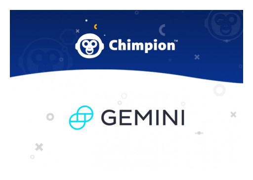 Chimpion to Offer Merchants Automatic Gemini Dollar (GUSD) Stablecoin Settlement