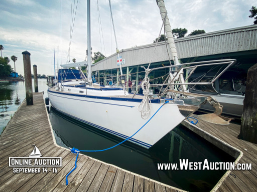 US Bankruptcy Auction of 1998 Hans Christian Christina 52' Sailboat