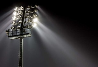 Rack of Stadium Lights