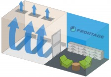 Frontage Clinical's Negative Pressure room with specialized ventilation