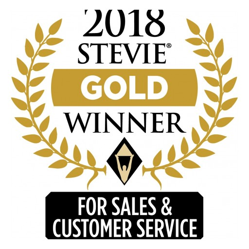 SGE International, LLC Wins Gold Stevie® Award in 2018 Stevie Awards for Sales & Customer Service