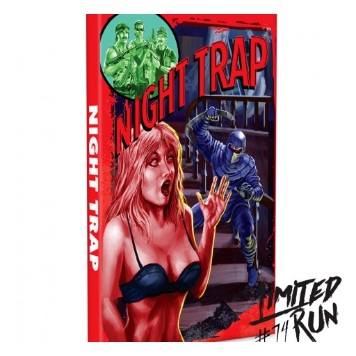 """Classic Video Game """"Night Trap"""" to Be Rereleased August 11 to Mark 25th Anniversary of Controversial Title That Led to Establishment of Video Game Ratings System"""