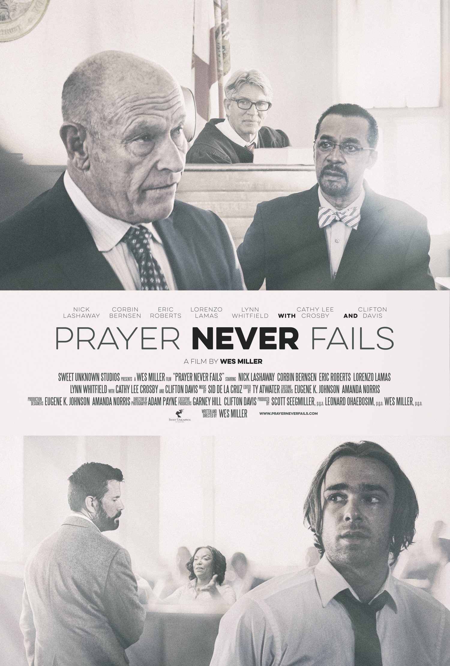 New Family Faith Film 'Prayer Never Fails' Set to Release in