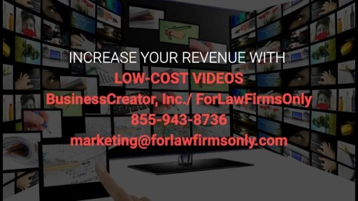 Video Creation For Attorneys-Video Marketing For Attorneys-855-943-8736