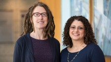 Gladstone scientists Katherine Pollard and Shomyseh Sanjabi