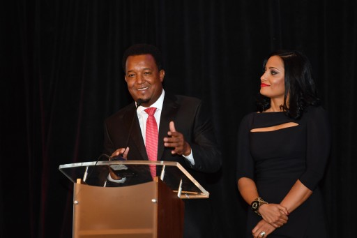 Hall of Fame Baseball Player Pedro Martinez Holds Charity Event in Boston