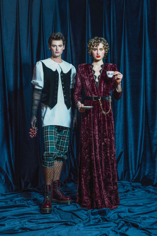 Indulge With Come On's New 'Victorian Collection'