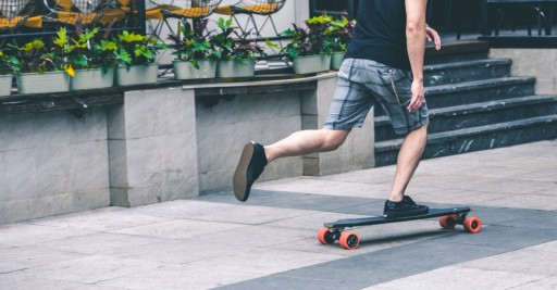 Exway raises the bar in the electric skateboard industry with their latest intelligent skateboard the X1
