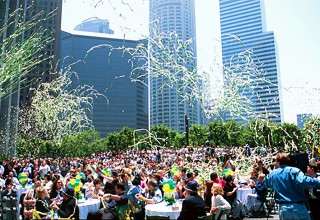 High-Powered Streamers and Confetti Energize Outdoor Events