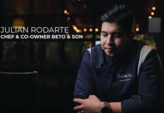 Chef Julian Rodarte, Co-owner of Beto & Son in Dallas, TX