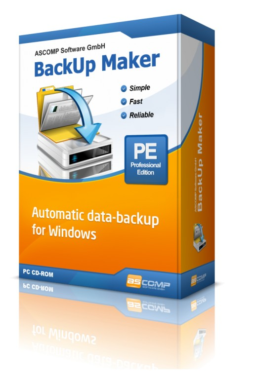 ASCOMP Releases Data Backup Software, BackUp Maker Version 7.5, for Windows With a New Quick Selection Feature