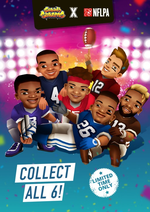 NFL Superstars Take a Run in Subway Surfers