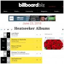 Heatseekers Albums Chart #8