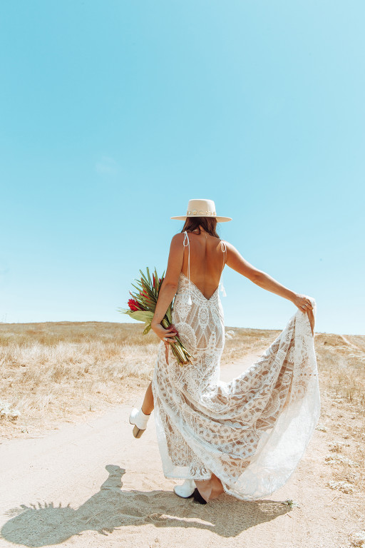 Bohemian Wedding Dress Designer All Who Wander™ Goes Bold With New Collection