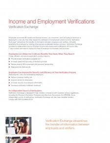 Employment Verification One