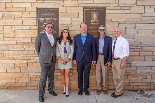 City of Aurora's Late Mayor Steve Hogan Honored During Commemorative Plaque Unveiling Ceremony Hosted by The Aurora Highlands