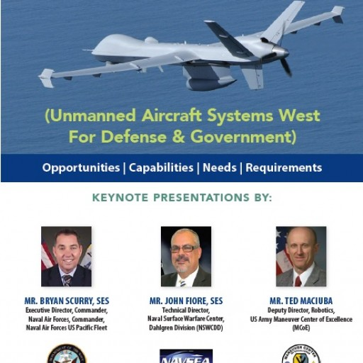 "Technology Training Corporation (TTC) Announces 'Unmanned Aircraft Systems West"" for Defense and Government, September 12-13, 2018"